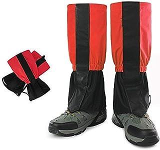 CHUER Polainas Impermeable a Prueba de Viento Nieve Guardia protección para Las piernas montaña Senderismo esquí Actividades al Aire Libre - 1 Par