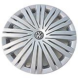 Volkswagen 6C0601147CYTI Radkappe (1 Stück) Radzierblende 15 Zoll Radvollblende 6Jx15 Stahlfelge
