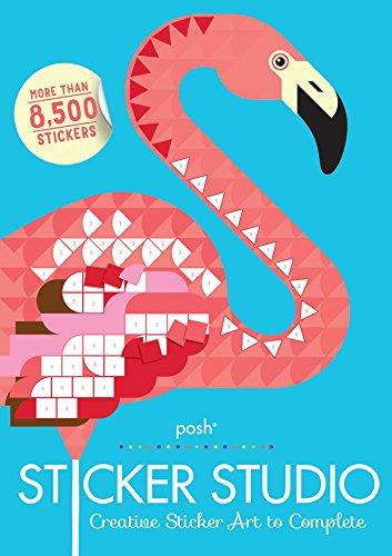 Posh Sticker Studio: Creative Sticker Art to Complete