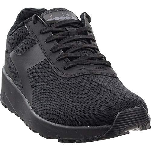 Diadora Womens Evo Run Dd Cys Lace Up Sneakers Shoes Casual - Black - Size 7.5 B