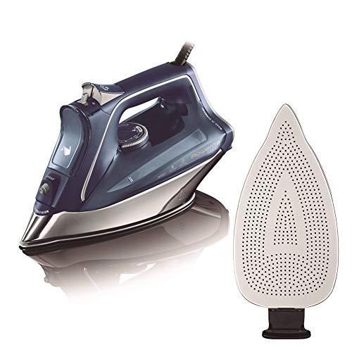 Rowenta dw8215d1 promaster plancha de ropa con golpe 200 vapor continuo de 40 g/min & zd7900d1 - plancha desmontable, recubierto de teflón, fácil de colocar y quitar