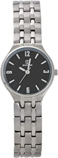Hand Watch for Women by Olivera, Round, Silver, OL083
