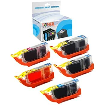Black, 6 Pack ZET Remanufactured Ink Cartridge Replacement for ...