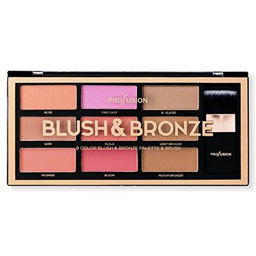 Profusion Blush & Bronze 9 Color Artistry Palette