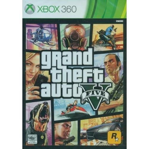 Rockstar Games Grand Theft Auto V, Xbox 360