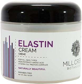 Mill Creek Botanicals Elastin Cream, 4 Ounce