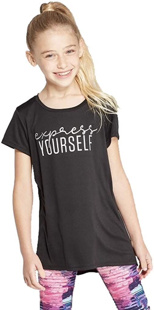 Champion C9 Girls' Express Yourself Graphic Tech T-Shirt -