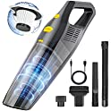 Acarsunny 6000PA Mini Wireless Car Interior Cleaning Vacuum Cleaner