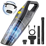Cordless Vacuum Cleaner Handheld,6000PA Portable Pet Hair High Power Dust Buster for Home,Strong Suction&Rechargeable Mini Wireless Car Interior Cleaning Vacuum Cleaner.