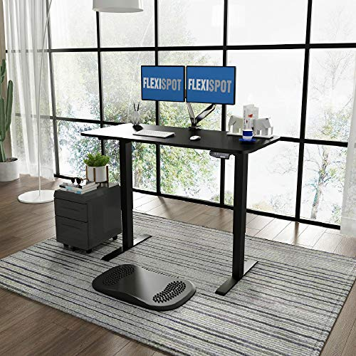 FLEXISPOT E1 Height Adjustable Electric Standing Desk with...