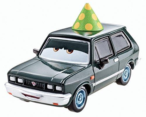Disney Pixar Cars Alexander Hugo with Party Hat (Lemons Series, #5 of 8) - Voiture Miniature Echelle 1:55