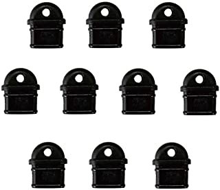 monofive USB3.1 Type-Cコネクタ防塵保護カバー つまみストラップホール付き 黒(10個入り) PVCタイプ MF-TTEC-PV10B