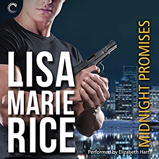 Midnight Promises                   By:                                                                                                                                 Lisa Marie Rice                               Narrated by:                                                                                                                                 Elizabeth Hart                      Length: 9 hrs and 8 mins     152 ratings     Overall 4.4