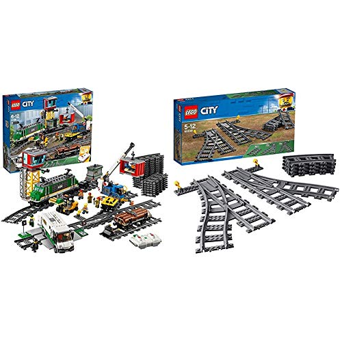 Lego City, Treno Merci, 60198 & City Trains, Scambi, 60238