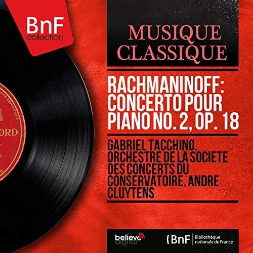 Gabriel Tacchino, Orchestre de la Société des concerts du Conservatoire, André Cluytens