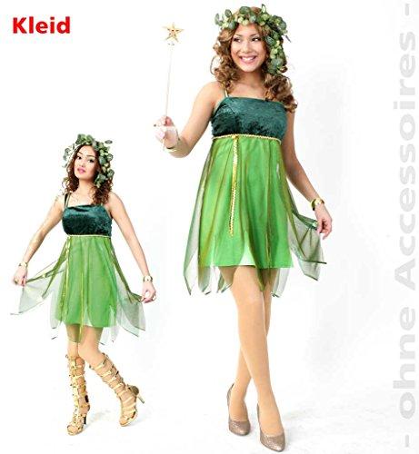 KarnevalsTeufel Elfenkostüm Elfe Elfenkleid Damenkleid Lauriel, Waldelfe, Feenkostüm Fee Zauberwesen magisches Wesen (42)