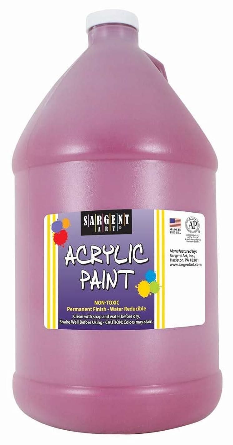 Sargent Art Half Gallon Acrylic Paint Magenta, (64-Ounce, 1/2 Gallon) 22-2738 ybi96731234