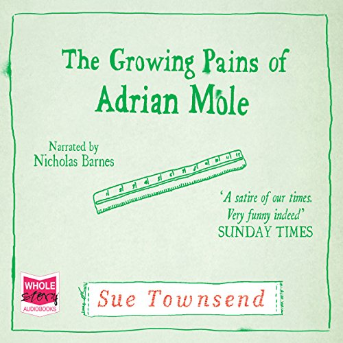 The Growing Pains of Adrian Mole audiobook cover art