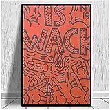 Mural Crack Is Wack Leinwanddrucke Poster Wandkunst Bild