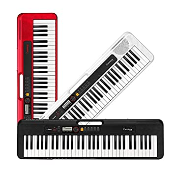Casio Casiotone 61-Key Portable Keyboard with USB White CT-S200WE
