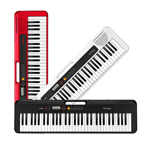 Casio Casiotone, 61-Key Portable Keyboard with USB, WHITE (CT-S200WE)