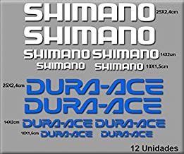 WORLDSELL Kit of 18 Pegatinas para Bicicletas Shimano