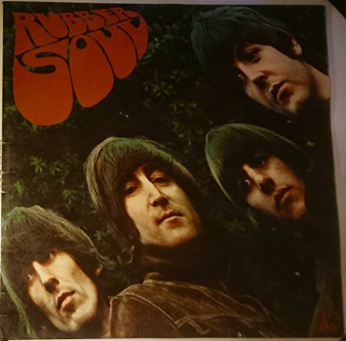 Beatles Rubber Soul LP Parlophone PMC1267 VG/EX 1965 side one matrix XEX5794, side two matrix XEX5804, it has light audible scratches on In My Life & If I Needed Someone otherwise it is near EX