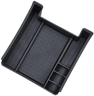 Vesul Armrest Secondary Storage Box Glove Pallet Center Console Tray Organizer Fits on Volvo XC60 V60 S60 2009 2010 2011 2012 2013 2014 2015 2016 2017/V60 S60 2018