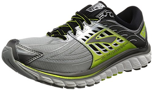 Brooks Glycerin 14 Running Sneaker Shoe - Silver/Lime -...