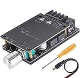 ZHITING Bluetooth Amplifier Board Module 2x50W Digital Stereo Audio Amp Board Dual Channel DC 5V-27V con Filtro de Alta fidelidad