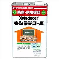 大阪ガスケミカル株式会社 キシラデコール タンネングリーン 3.4L