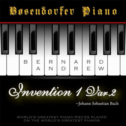 J. S. Bach: Invention No. 1 in C Major, BWV 772: Variation No. 2 (Bosendorfer Piano Version)