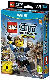 LEGO City Undercover - Limited Edition with Chase McCain Minifigure (Nintendo Wii U) (B00B5Q83NE) | Amazon price tracker / tracking, Amazon price history charts, Amazon price watches, Amazon price drop alerts