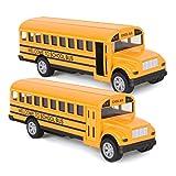 Think Wing Juguete de Autobús, Coches de Juguete de Autobús Escolar...