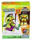 Mega Bloks dMW40–Figure de Jouet Teenage Mutant Ninja Turtles Donnie avec Skateboard