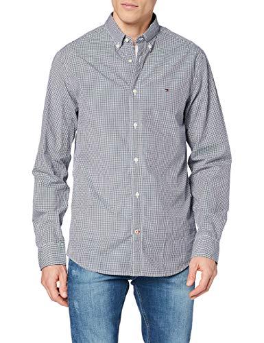 Tommy Hilfiger Herren CORE Check Shirt Freizeithemd, Mehrfarbig (Peacoat/Bright White 902), XX-Large