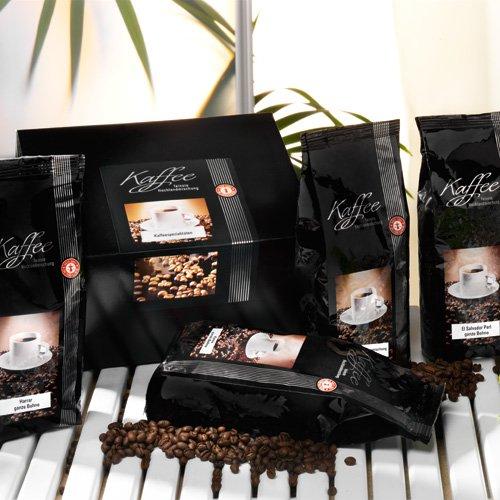 Kaffee-Spezialitäten aus drei Erdteilen