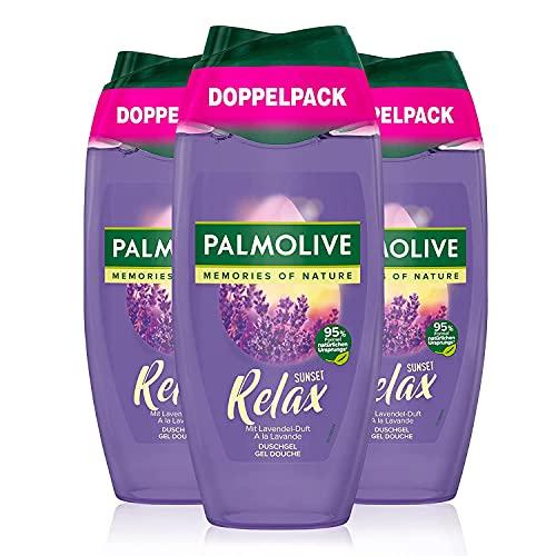 Palmolive Aroma Sensations Sunset Relax Duschgel Doppelpack, 2x250 ml