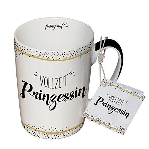 PPD Porzellan Henkelbecher Tasse 0,25L (Vollzeit Prinzessin)