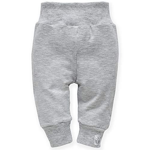 Pinokio - Wild Animal -Legging bébé - Pantalons de survêtement Fille, Leggings avec Motif Animal 62 68 74 80 86 (80 cm, Gris)