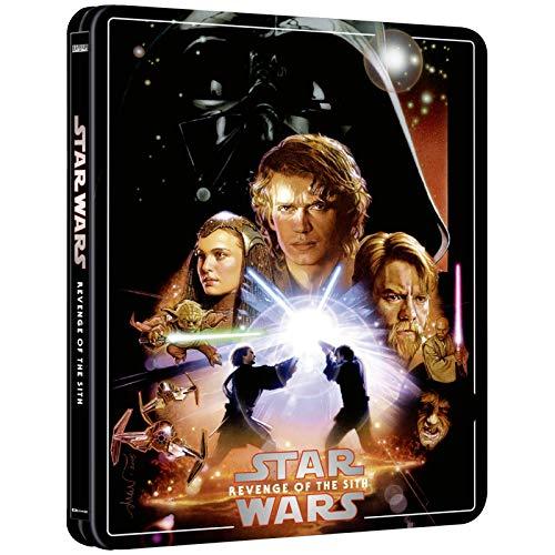 Star Wars - Revenge of the Sith - 4K ULTRA HD Limited Exklusiv Steelbook Edition + Bonus Blu-ray [Blu-ray] 2020