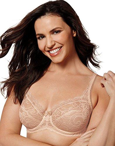 Womens Love My Curves Sexy Lift Uw Bra (US4825) -Paris Nude -40D (Girls Gone Wild Top 50 Best Breasts Ever)