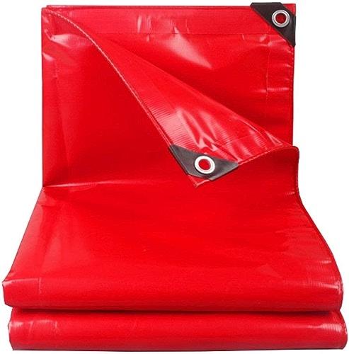 DJSMpb Baches 100% bache imperméable à l'eau Robuste bache au Sol Couverture de Bateau Toit de Pluie Bateau Bateau Camping remorque Tente Rouge Couverture de la Piscine (Taille   3MX5M)