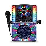 Singing Machine SML625BTBKD Bluetooth CD+G Karaoke System Black