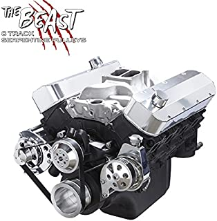 Chevy Big Bock Serpentine Kit - Alternator & Power Steering Applications