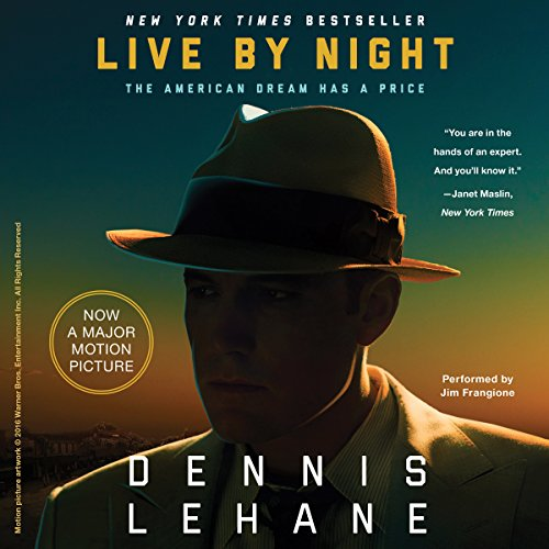 Live by Night audiobook cover art