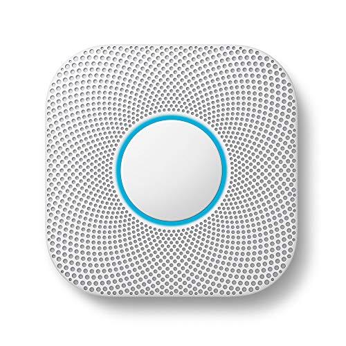 Google Nest Protect Detector De Humo y CO, Blanco
