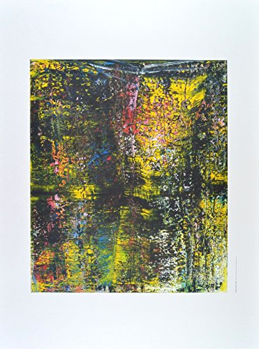 Germanposters Gerhard Richter Schraege Poster Kunstdruck Bild 98x68,5cm