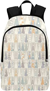 Christmas Trees Casual Daypack Travel Bag College School Backpack for Mens and Women