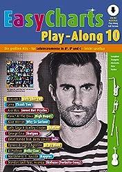 Easy Charts Play-Along Band 10: Die GroessTen Hits Spielerisch Leicht Gesetzt